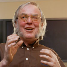 Photo of Professor Colin Pillinger CBE