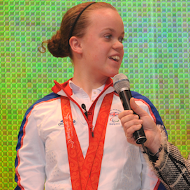 Ellie Simmonds OBE
